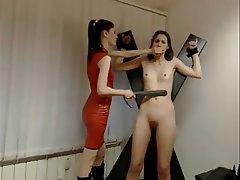 Amateur Lesbian Spanking Strapon