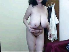 Amateur, Big Boobs, Granny, Mature, Webcam