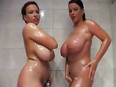 Big Boobs Lesbian MILF