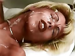 Blonde Cumshot Facial German