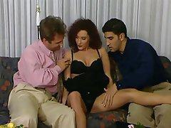 Cumshot Double Penetration Italian Threesome Vintage