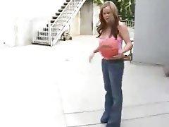 Babe Big Boobs Blowjob Cumshot Handjob