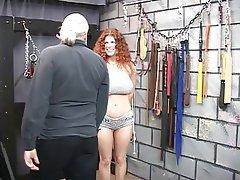 BDSM, Redhead, Mature, Big Boobs
