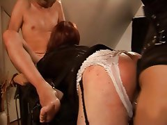Anal Bisexual Blowjob Femdom Strapon