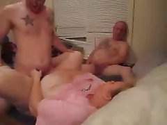 Amateur Bisexual Swinger Threesome