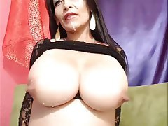 Big Boobs MILF Nipples Webcam