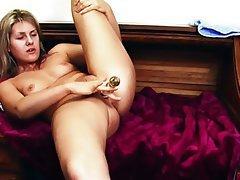 Blonde Masturbation Orgasm