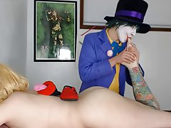 Amateur Blonde Cosplay Squirt Webcam