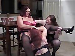 BBW Big Boobs Big Butts Masturbation Threesome