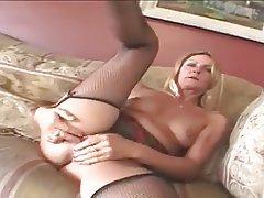 Anal Blonde Masturbation Mature MILF