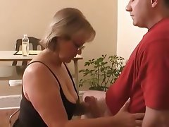 Remarkable, the cfnm milking handjob consider, that