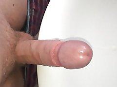 Amateur British Cumshot Masturbation POV