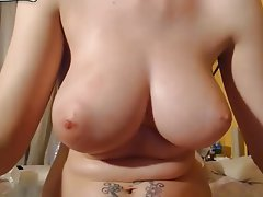 Amateur Big Boobs Brunette Masturbation