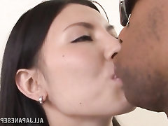 Asian Babe Big Tits Blowjob Cumshot