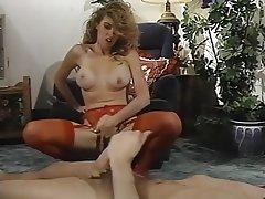 Hairy Lingerie Masturbation Stockings Vintage