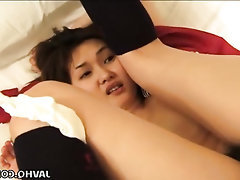 Asian Blowjob Cumshot Hairy Masturbation