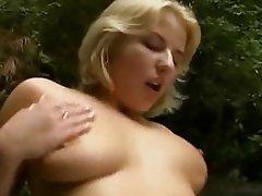 Blonde German Hardcore Outdoor