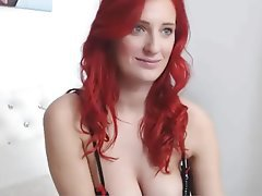 Amateur Redhead Stockings Webcam