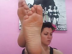 Amateur Blonde Foot Fetish French