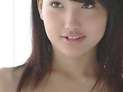Brunette Japanese Skinny