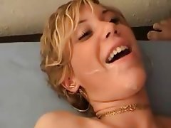 German blonde fucked hard peeping tom on
