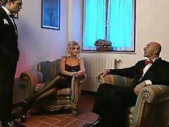 Italian MILF Threesome