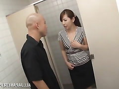 Asian Babe Big Tits Blowjob