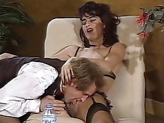 Double Penetration French Group Sex Stockings Vintage