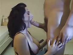 Babe Big Boobs Blowjob Brunette