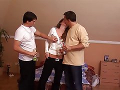 Blowjob Cumshot Cunnilingus Group Sex Threesome