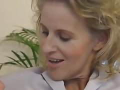 Blonde Mature German Granny Old and Young
