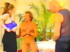 Threesome, German, Big Boobs, Vintage