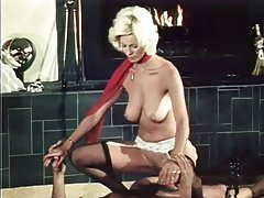Blonde Hairy MILF Stockings Vintage