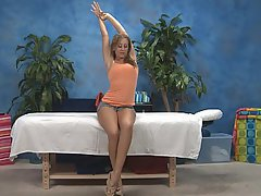 Teen Skinny Massage Blonde
