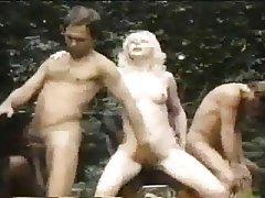 Cumshot Double Penetration Group Sex Interracial Midget