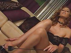 Brunette, Close Up, Foot Fetish, POV