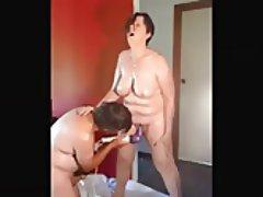 BBW Big Boobs Mature Orgasm