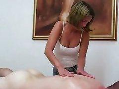 Handjob In Massage Parlor