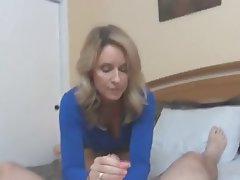 Big Boobs Blonde Cumshot MILF