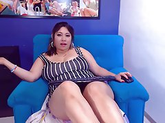 BBW Big Butts Masturbation Webcam