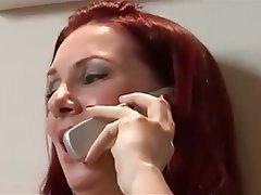 Brazil Cumshot MILF Redhead