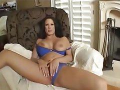 Masturbating wife busty amateur