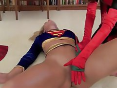 Supergirl topless in pantys pics
