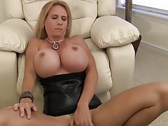 huge blowjob mature breast