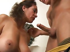 Big Boobs Brunette Mature Pornstar