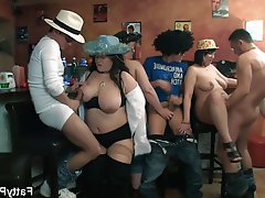 BBW, Big Butts, Group Sex