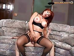 Gangbang, Hardcore, Old and Young, Redhead