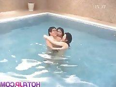 Amateur Asian Hardcore Japanese Threesome