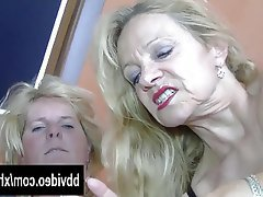 Blowjob German Hardcore Mature Threesome