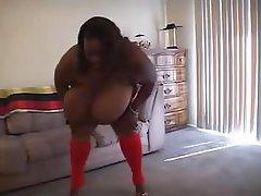 BBW Big Boobs Interracial MILF